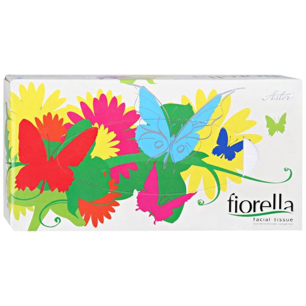 Косметические салфетки Aster Fiorella 2 слоя 100 листов белые