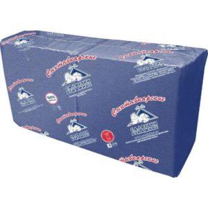 Салфетки бумажные Profi Pack 33x33 см синие 1-слойные 250 штук в упаковке