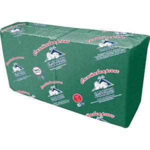 Салфетки бумажные Profi Pack 33x33 см зеленые 1-слойные 250 штук в упаковке